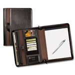 Stratford Zippered Writing Portfolio Set - Debossed