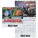 American Visions Calendar - Stapled - 24 hr