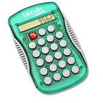 Sport Grip Calculator - Translucent