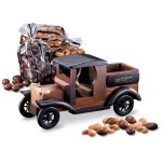 1911 Pick-up Truck w/Chocolate Almonds & Cashews