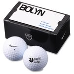 Nike Power Soft 2-Golf Ball Business Card Box