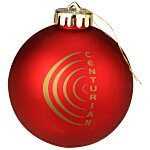 Satin Round Ornament