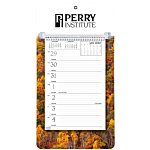 Weekly Tear Away Memo Calendar - Autumn