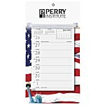 Weekly Tear Away Memo Calendar - Patriotic