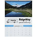 American Splendor Large Wall Calendar