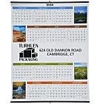 Scenic Span-A-Year Wall Calendar