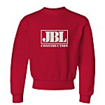Jerzees NuBlend Crewneck Sweatshirt - Youth