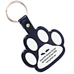 Paw Shaped Key Tag - Opaque