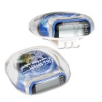 Clearview Pedometer - Globe