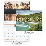 Landscapes of America Calendar (Spanish) - Spiral