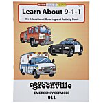 Learn About 911 Coloring Book
