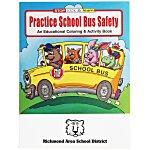 Practice School Bus Safety Coloring Book