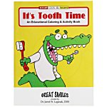 Its Tooth Time Coloring Book