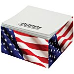 Post-it&reg; Notes Cubes - 285 Sheets - Patriotic