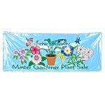 Vinyl Banner w/Grommets - 3' x 8'