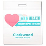 Health Die Cut Bag