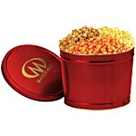 3-Way Popcorn Tin - Solid - 2 Gallon