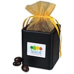 Desk Caddy - Leatherette - Dark Chocolate Almonds
