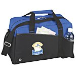 Two-Tone Duffel Bag - Full Color