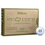 Wilson Eco Core Golf Balls - Dozen - Quick Ship