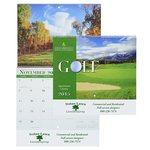 Golf Landscapes 2015 Calendar - Spiral - Closeout