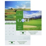 Golf Landscapes 2015 Calendar - Stapled - Closeout