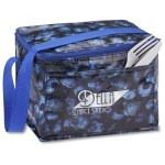 PhotoGraFX Six Pack Cooler - Blueberries