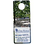Plastic Door Hanger  - Full Color