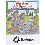 We Are All Special Coloring Book