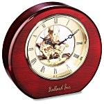 DeSoto Clock - Wood