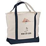 Harbor Cruise Boat Tote - 16