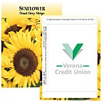 Standard Series Seed Packet - Sunflower