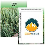 Standard Series Seed Packet - Thyme