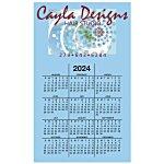 Bic 20 mil Calendar Magnet - Colors