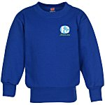 Hanes ComfortBlend Sweatshirt - Youth - Embroidered
