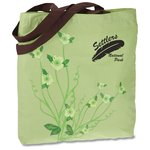 Design Accent Cotton Shopper - Flower