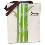 Design Accent Cotton Shopper - Bamboo