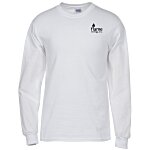 Gildan 6.1 oz. Ultra Cotton LS T-Shirt - Men's - White