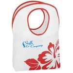 Polypropylene Hobo Tote - Flower - 24 hr