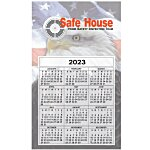 Bic 20 mil Calendar Magnet  Medium  Patriotic