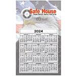 Bic 20 mil Calendar Magnet – Medium – Patriotic