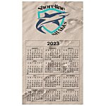 Bic 20 mil Calendar Magnet – Medium – Footprints