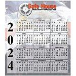 Bic 20 mil Calendar Magnet – Small – Patriotic