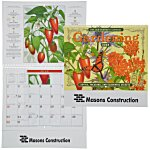 The Old Farmer's Almanac Calendar - Gardening - Spiral
