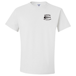 Jerzees Cotton T-Shirt - White - Screen