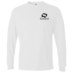Anvil 4.5 oz. Ringspun Long Sleeve Fashion-Fit T-Shirt-White
