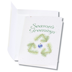 Seeded Holiday Card - Season's Greenings Recycle