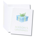 Seeded Holiday Card - Season's Greenings Package