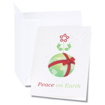 Seeded Holiday Card - Peace on Earth