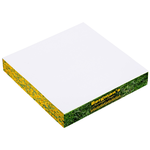 Post-it&amp;reg; Notes Thin Cubes - 3-3/8&quot; x 3-3/8&quot; x 1/2&quot;